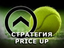 ставки на теннис по стратегии Прайс Ап